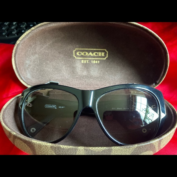 2 for $40 Coach black sunglasses